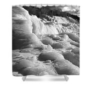 Winter Texture Shower Curtain
