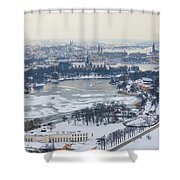Winter Wonderland In Stockholm Shower Curtain