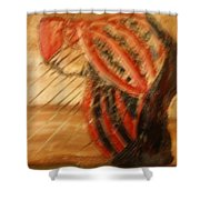 Winterbreak - Tile Shower Curtain