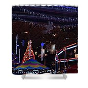 Winterfest Carnival 2013 Shower Curtain