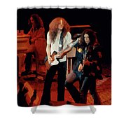 Winterland Freebirds 2 Shower Curtain