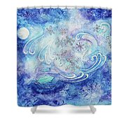 Winters Breathe Shower Curtain