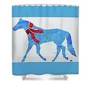 Winter's Coming Shower Curtain by Candace Shrope