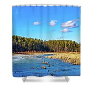Winter's Demise Shower Curtain