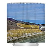 Winters End Shower Curtain