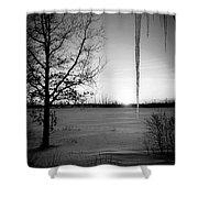 Winters Glow #2 Shower Curtain