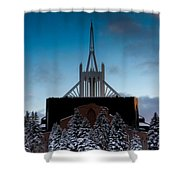 Winter's Heavenly Show Shower Curtain