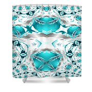 Winter's Jewels Shower Curtain