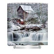 Winter's Rest Shower Curtain