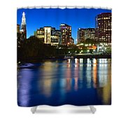 Hartford Lights Shower Curtain