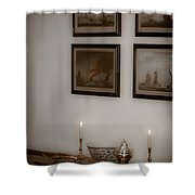 Winterthur By Candlelight Shower Curtain