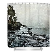 Wintertide Shower Curtain