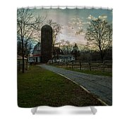 Winterwood Farm Shower Curtain