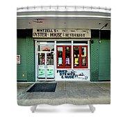 Wintzells Front Door In Mobile Alabama Shower Curtain