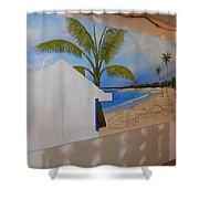 Wip 02- Tyler's Room Shower Curtain