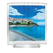 Wip Divi Little Bay Beach Shower Curtain