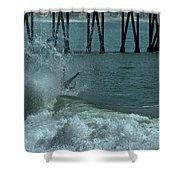 Wipeout Shower Curtain