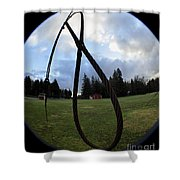 Wire Rope Loggers Noose Shower Curtain