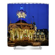 Wisconsin Club Holiday Shower Curtain