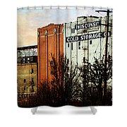 Wisconsin Cold Storage Shower Curtain
