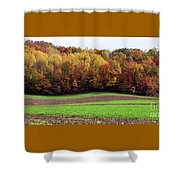Wisconsin Colors Shower Curtain