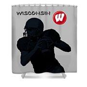 Wisconsin Football Shower Curtain