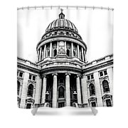 Wisconsin's Capitol Shower Curtain