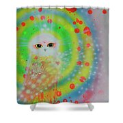 Wisdom Of  The Owl  Shower Curtain