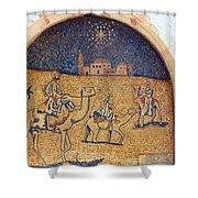 Wise Men Reaching Beit Sahour Shower Curtain