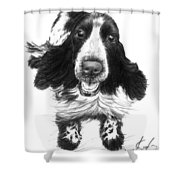 Wish Lady Shower Curtain