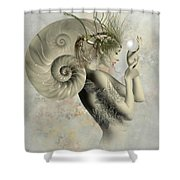 Wish On A Pearl Shower Curtain