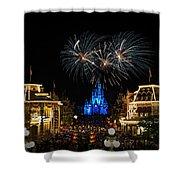 Wishes At Magic Kingdom Shower Curtain