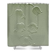 Wishing You Joy Greeting Card - Lily Of The Valley Shower Curtain