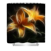 Wispy Lilies Shower Curtain