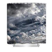 Wispy Skies Shower Curtain