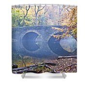 Wissahickon Creek At Bells Mill Rd. Shower Curtain by Bill Cannon
