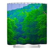 Wissahickon Creek Shower Curtain