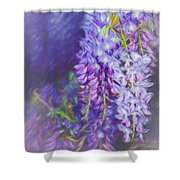 Wisteria Elegance By Kaye Menner Shower Curtain