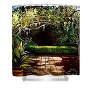 Wisteria Shadows Shower Curtain