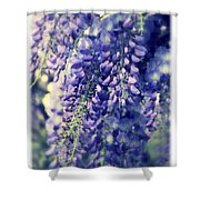 Wisteria Whimsy Shower Curtain