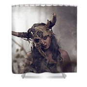 Witch Doctor 1 Shower Curtain