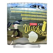 Witchcraft Bombs Away  Shower Curtain
