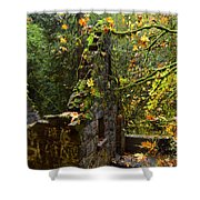 Witches Castle Shower Curtain
