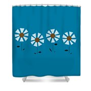 Witco Flowers  Shower Curtain