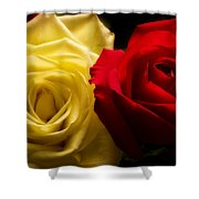 With All My Love Shower Curtain