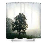 With The Rising Of The Sun 2 Shower Curtain