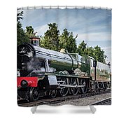 Witherslack Hall 4-6-0  Shower Curtain