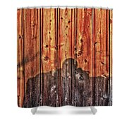 Within A Wooden Fence Shower Curtain