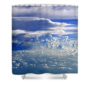Within Clouds Shower Curtain