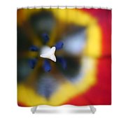 Within The Tulip Shower Curtain